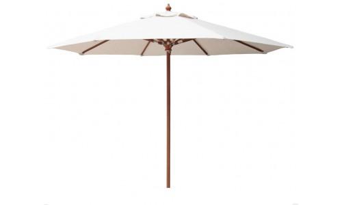 Ομπρέλα ξύλινη teak Φ300