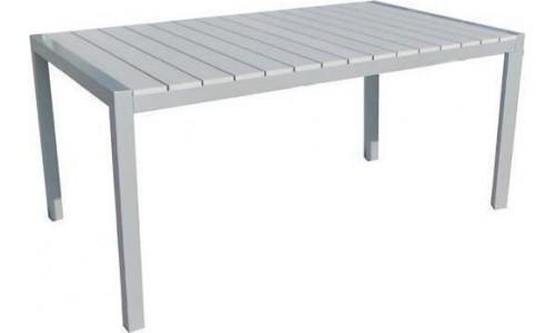 Τραπέζι αλουμινίου Ferrara-140 Γκρι
