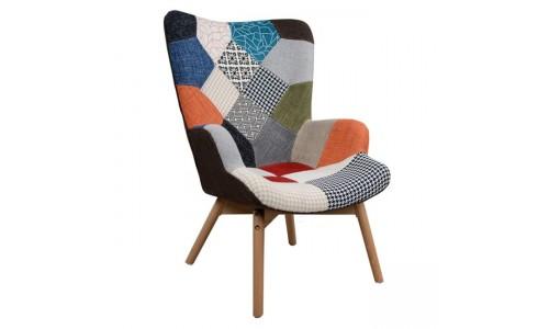 Πολυθρόνα μπρεζιέρα Rustica multicolor