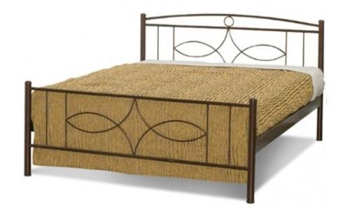 Κρεβάτι μεταλλικό Σεριφος με στρώμα Perfect CANDIA