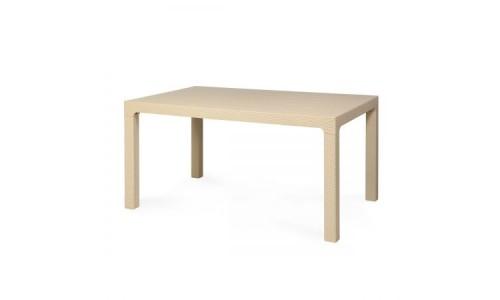 Τραπέζι Arizona-150 Κρεμ