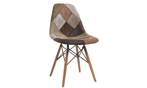 Καρέκλα Anita-Wood - ύφασμα