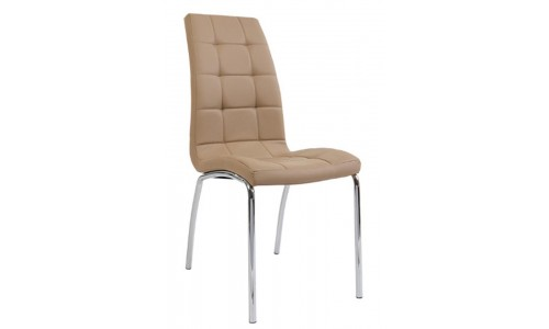 Καρέκλα Amelia χρώμιο  pu
