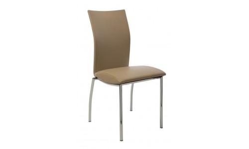 Καρέκλα Julia χρώμιο pu