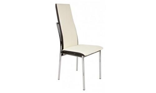 Καρέκλα Lisa χρώμιο pu