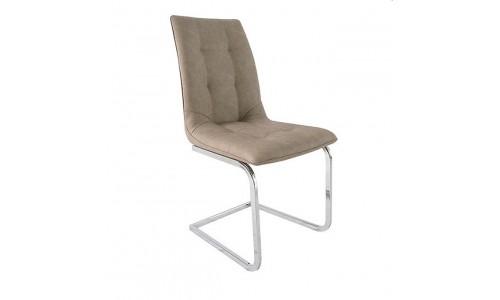 Καρέκλα Katherine Χρώμιο-Pu