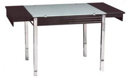 Τραπέζι AC 94 CL χρώμιο με τζάμι