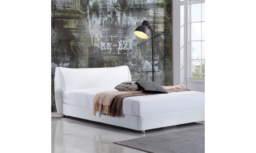 Κρεβάτι Malou Λευκό 160x200