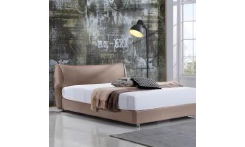 Κρεβάτι Malou Μόκα 160x200