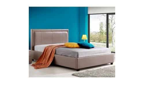 Κρεβάτι Ramona Μόκα 160x200