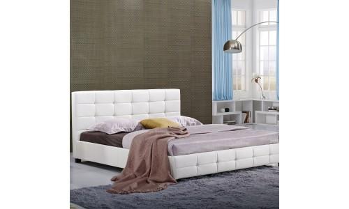 Κρεβάτι Angelina Λεύκο 160x200