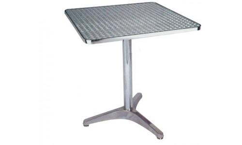 Τραπέζι αλουμινίου Salina τετράγωνο 60