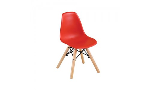 Καρέκλα ART Wood Kid Κόκκινη