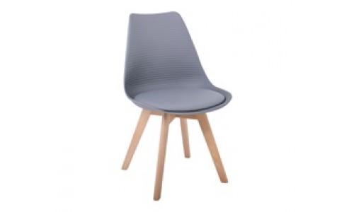 Καρέκλα MARTIN STRIPE Γκρι