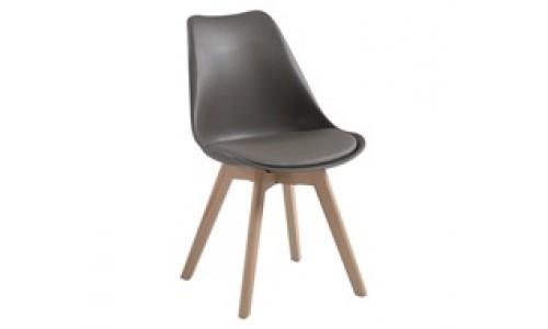 Καρέκλα  MARTIN Metal Cross Sand Beige