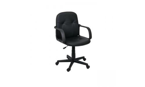 Πολυθρόνα Μαύρο PVC