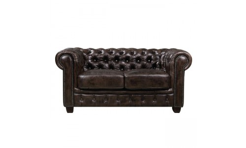 Καναπές CHESTERFIELD  2θέσιος Grey