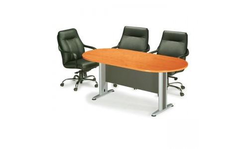Τραπέζι Συνεδρίου Oval DG/Cherry 240x120cm