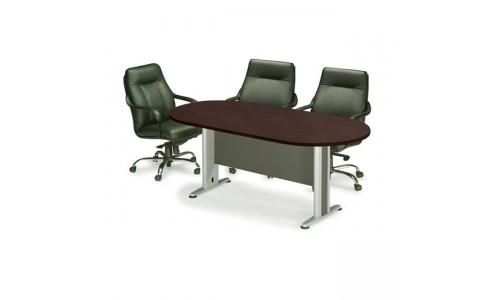Τραπέζι Συνεδρίου Oval Wenge 240x120cm