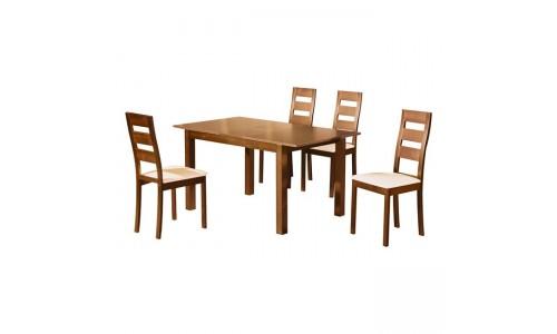 Τραπέζι Set MILLER Honey Oak