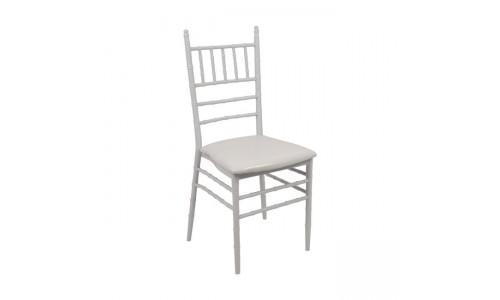 Καρέκλα ILONA Μεταλλική Λευκή