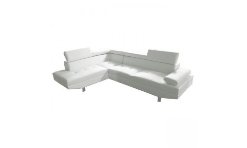 Καναπές Γωνία SECTOR Δεξιά Άσπρο
