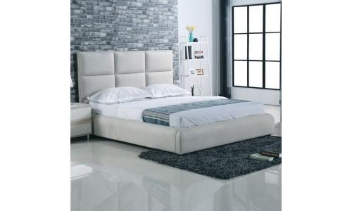 Κρεβάτι MAXIM Ύφασμα Grey-Stone 160x200cm