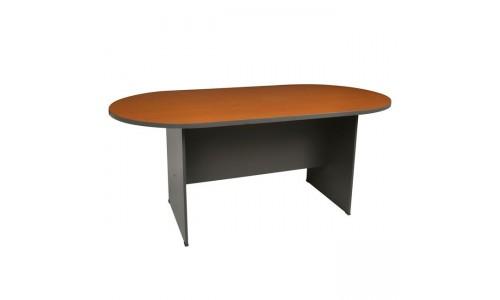 Τραπέζι Συνεδρίου-Α Oval DG/Cherry 240x120cm