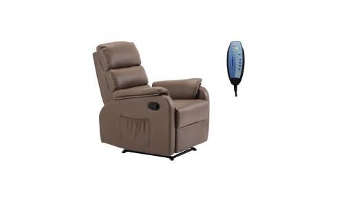 Πολυθρόνα Relax COMFORT Massage  Pu Cappuccino
