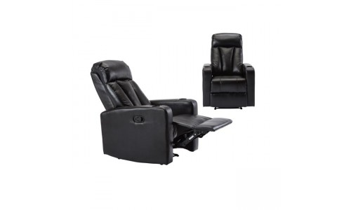 Πολυθρόνα LIVING Relax Μαύρο