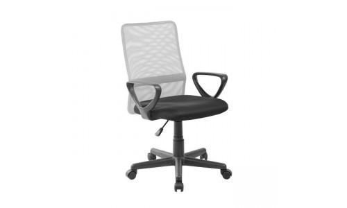 Καρέκλα γραφείου BF2007  Γκρι/Μαύρο