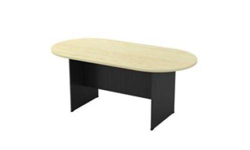 Τραπέζι Συνεδρίου-Α Oval Sonoma 180x90cm
