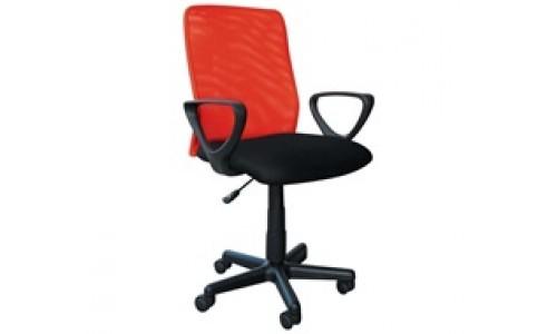 Καρέκλα γραφείου BF2007  Κόκκινο/Μαύρο
