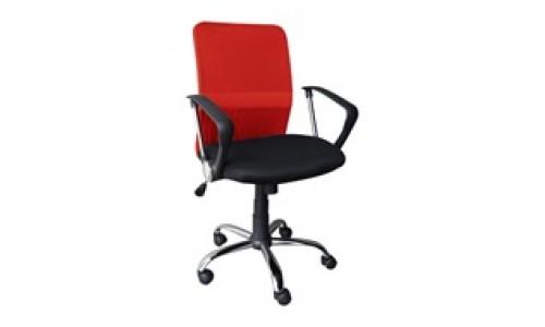 Καρέκλα γραφείου BF2009 Κόκκινο/Μαύρο