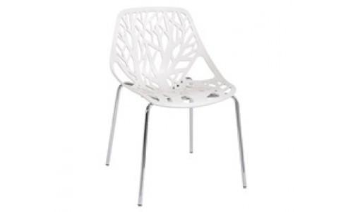 Καρέκλα  LINEA Άσπρη