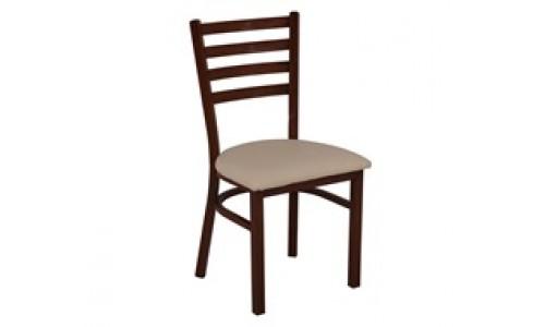 Καρέκλα NATURALE Steel PU Μπεζ